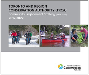 TRCA Community Engagement Strategy cover page