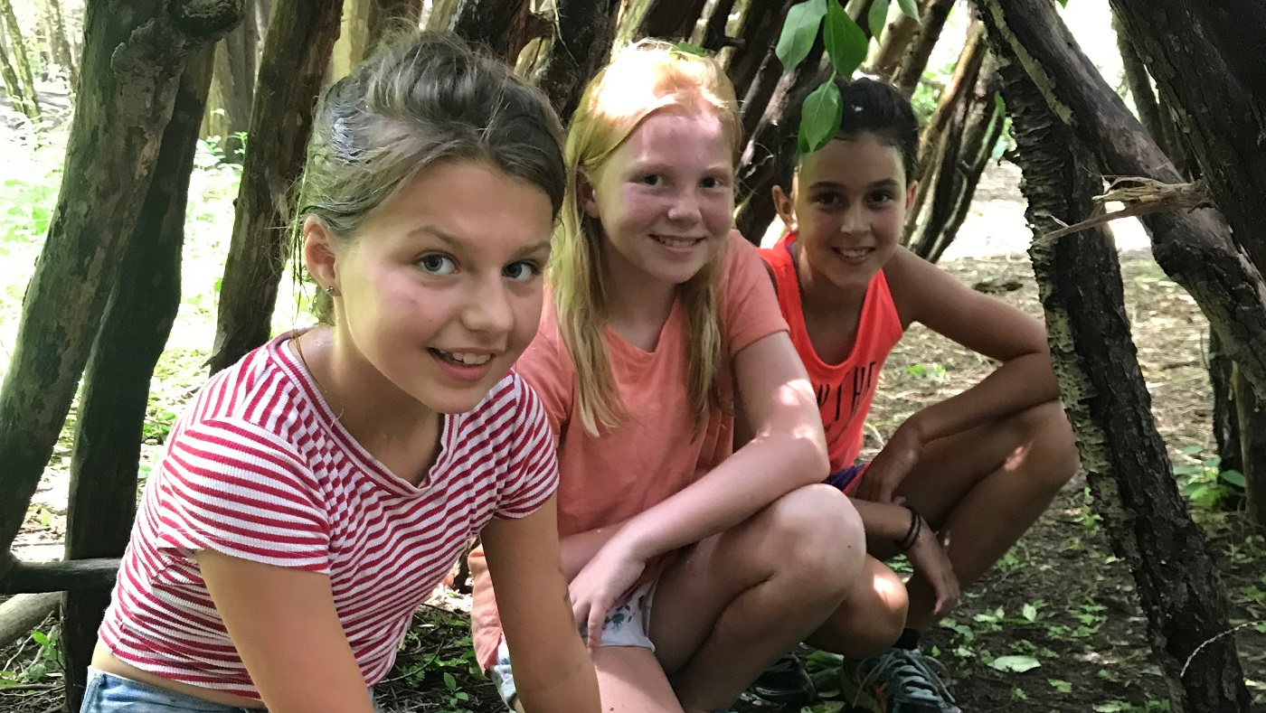 youngsters enjoy summer camp activities at Claremont Nature Centre
