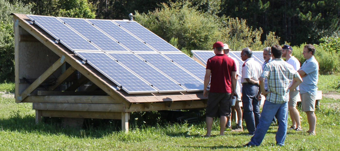 STEP solar energy workshop at Kortright Centre for Conservation