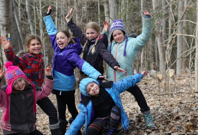 girls take part in Riversong camp at Claremont Nature Centre