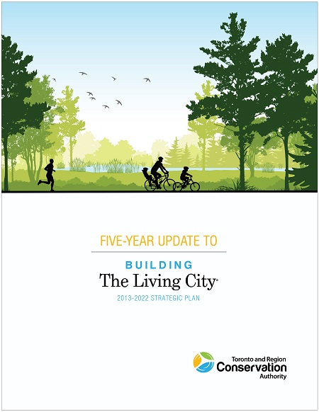 cover page of TRCA Strategic Plan 5 year update
