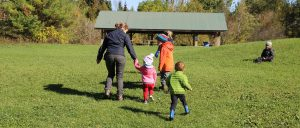 Parent and Tot Trail Walk @ Claremont Field Centre