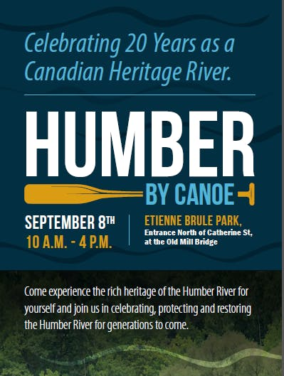 Humber by Canoe flyer