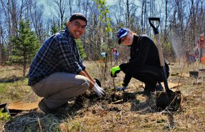 Community Tree Planting @ Retirement Suites by the Lake