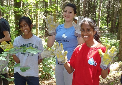 Durham Region students take part in Conservation Youth Corps program