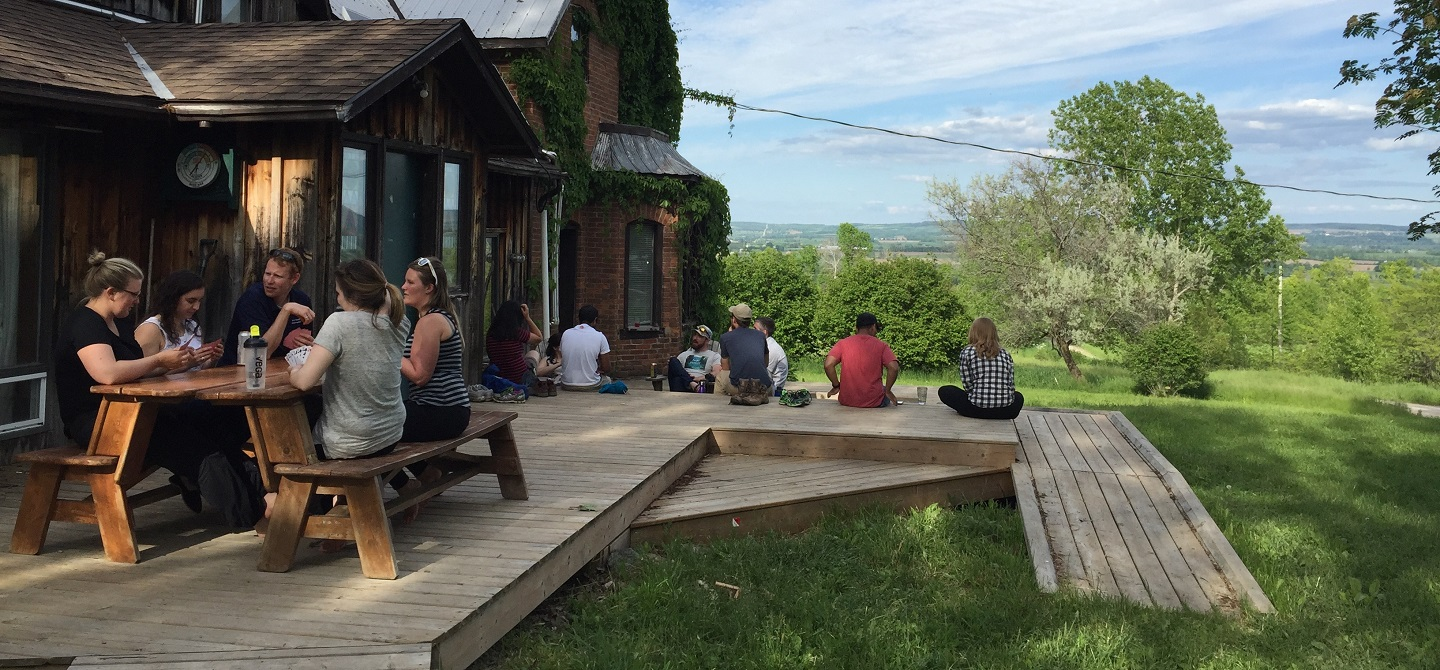 Young Conservation Professionals residential retreat at Albion Hills Field Centre