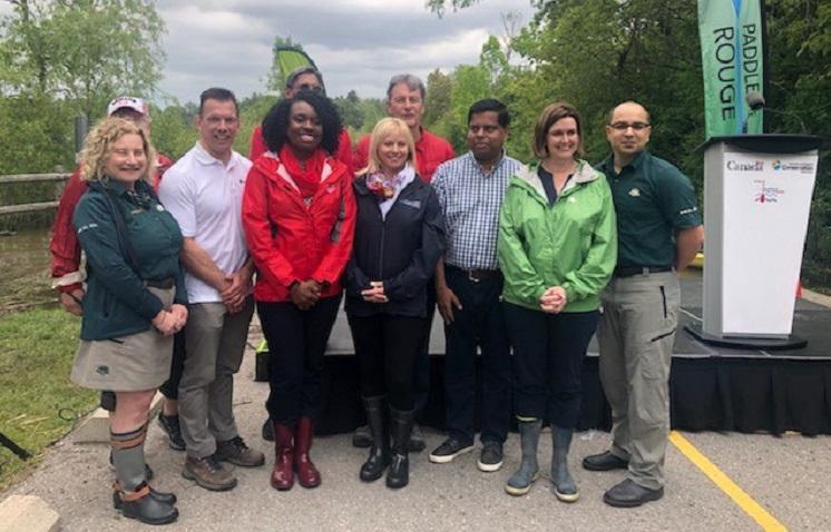 Rouge National Urban Park land transfer ceremony