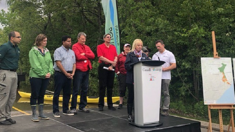 Rouge National Urban Park land transfer ceremony