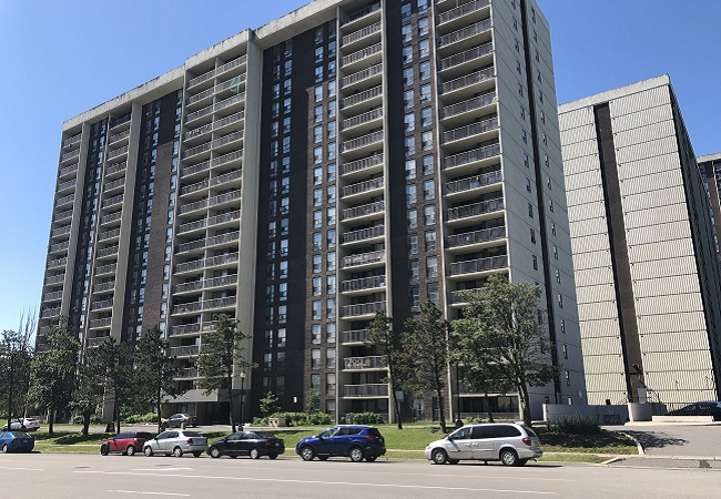 residential tower in Bramalea