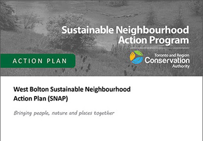 cover of West Bolton SNAP action plan