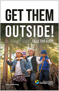 cover page of TRCA elementary school field trip guide