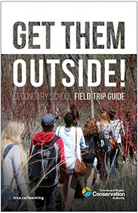 cover page of TRCA secondary school field trip guide