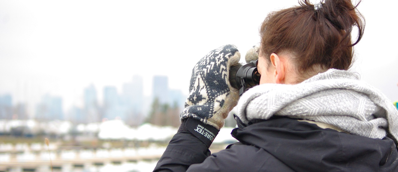 NYGEP participant takes part in winter bird count event at Tommy Thompson Park