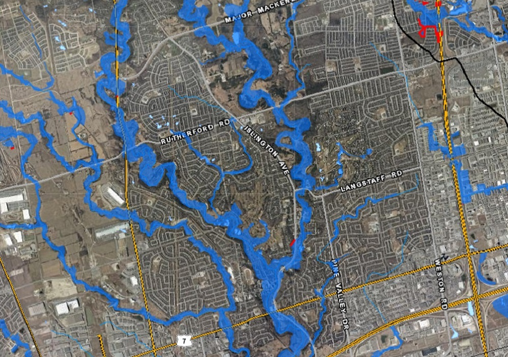 Woodbridge floodplain map
