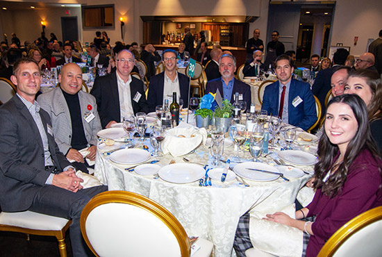 guests celebrate environmental leaders at 2019 Living City Dinner