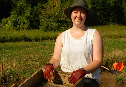 Boyd Archaeological Field School scholarship recipient