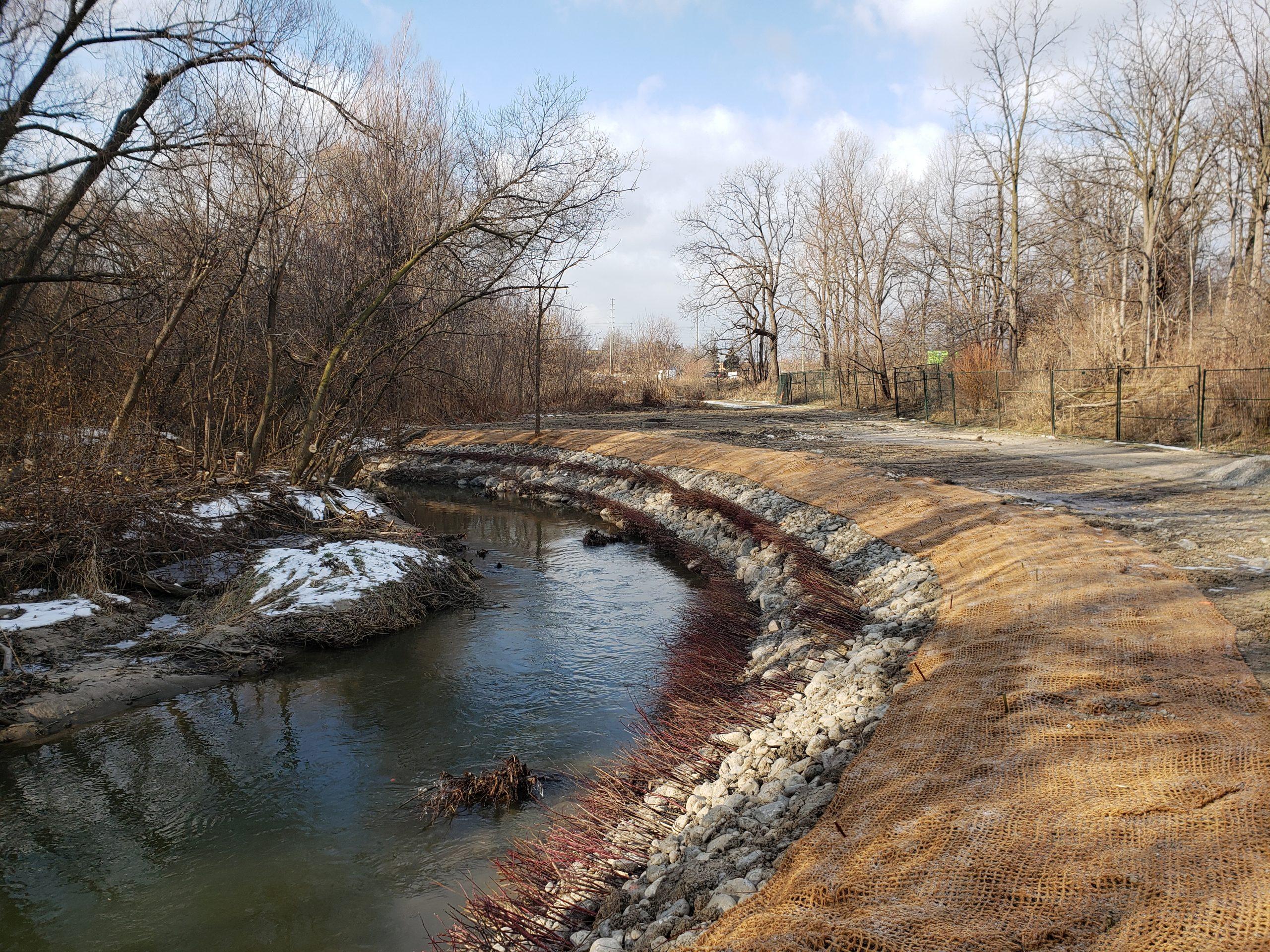 West Don River near Langstaff Park