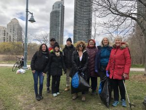 Spring Litter Cleanup at Humber Bay Park @ Humber Bay Park