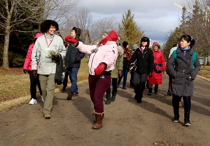international delegation tours TRCA watershed