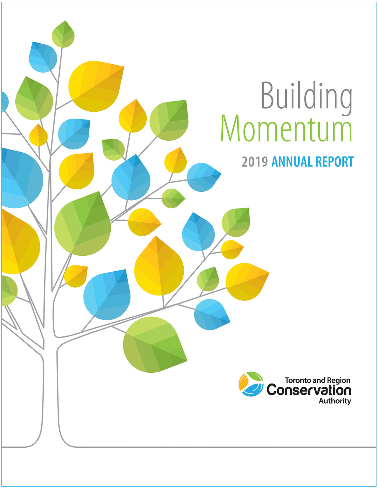 cover page of TRCA 2019 annual report