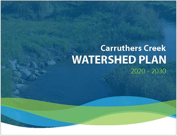 cover page of Carruthers Creek Watershed Plan