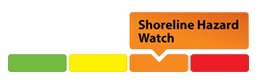 sample of shoreline hazard watch graphic