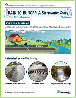 Rain to Runoff stormwater e-learning resource