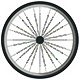 bicycle wheel icon
