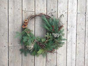 DIY Holiday Wreath Workshop @ Online Webinar