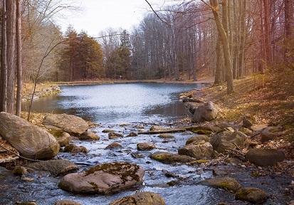 Highland Creek in autumn
