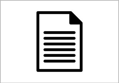 Presentation materials and public notices