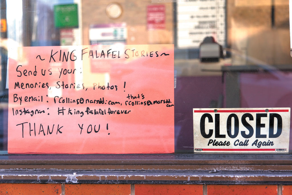 One of many shops to close along Eglinton Avenue West over the last two years