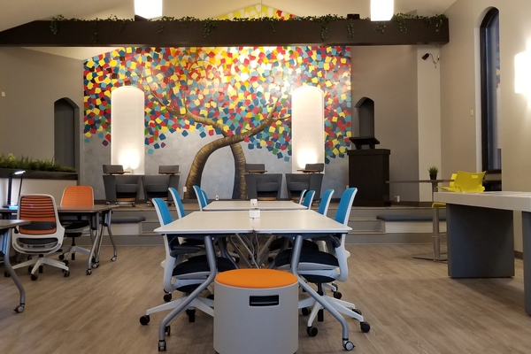 Little Italy's inspiring coworking space