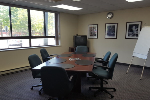 Bright Private Boardroom with 4+ parking Spaces