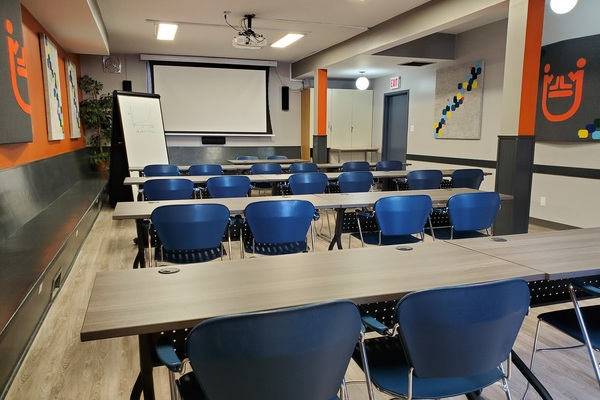 Equipped accessible classroom