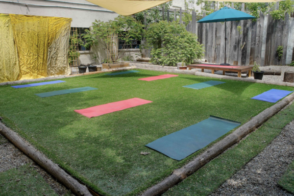 Outdoor Yoga Studio