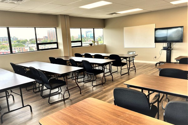 Bright and Spacious Classroom