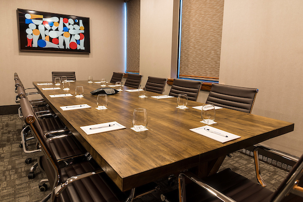 Centrally located executive boardroom - The Rideau Room