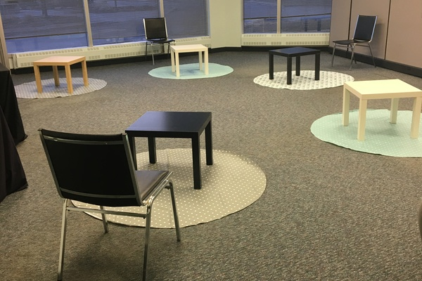 Large space for children's classes