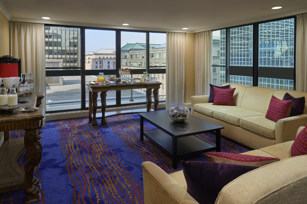 Downtown Hotel Hospitality Suite