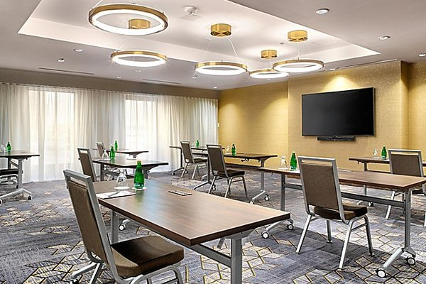 Modern boardroom space near Toronto airport