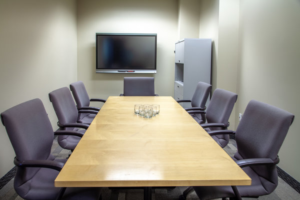 Modern Boardroom with A/V