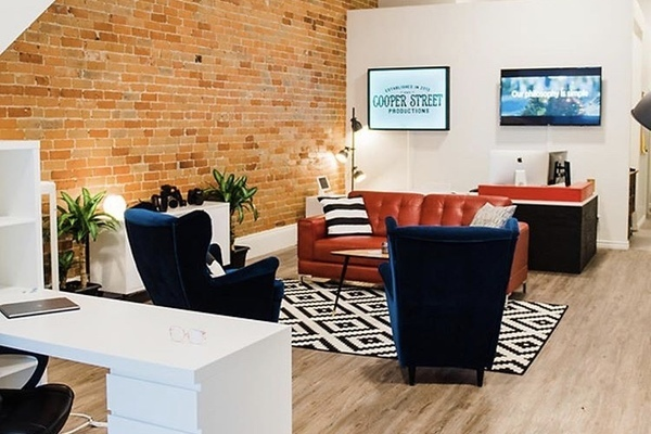 Modern yet classic Studio Style with high ceilings and exposed brick