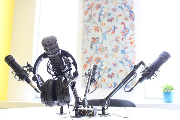 Podcast Studio - Includes Audio Engineer!