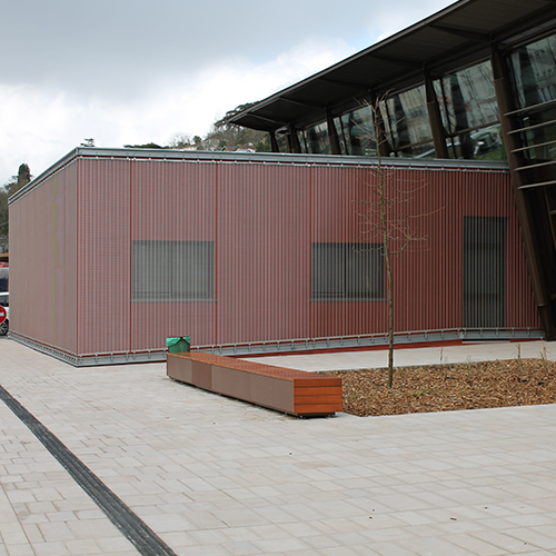 """Photography of project """"Multimodal Center of Agen Train Station"""""""