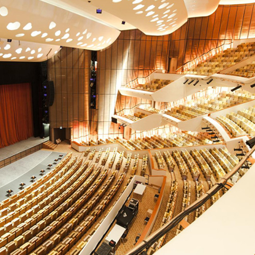 "Photography of project ""QNCC Theater Hall"""