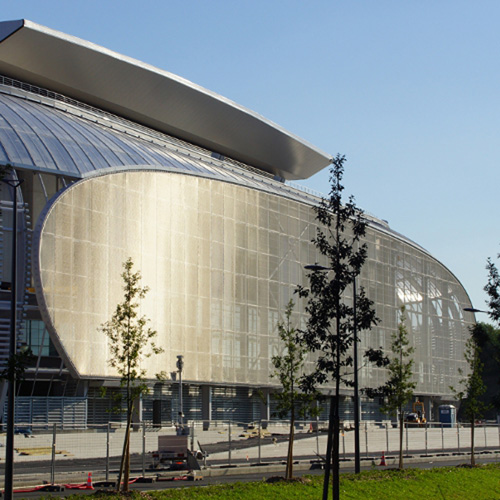 "Photography of project ""Stade Pierre Mauroy"""