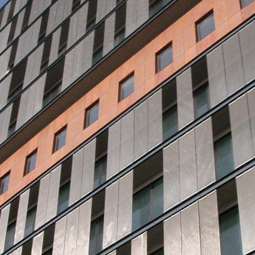 """Photography of project """"How to Install and Maintain a Wire Mesh Facade"""""""