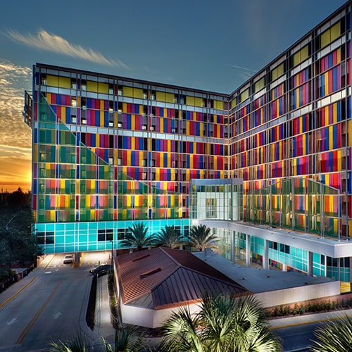 """Photography of project """"Shands Children's Hospital"""""""