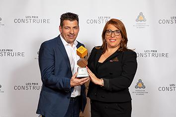 Lauréat 2019 -Garoy Construction